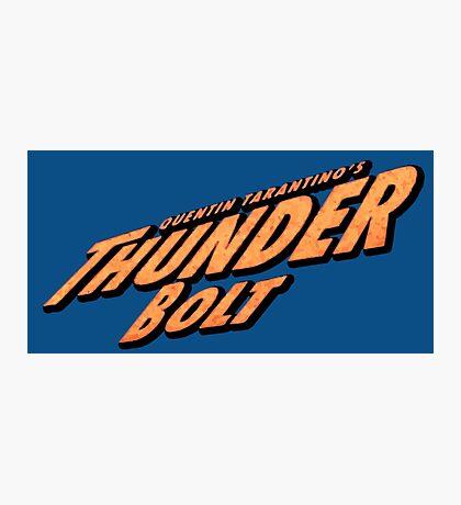 Thunder Bolt Photographic Print