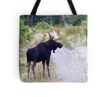Bull Maine Moose Tote Bag