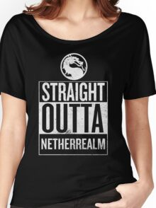 Straight Outta NetherRealm Women's Relaxed Fit T-Shirt
