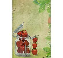 Strawberry Jam Photographic Print
