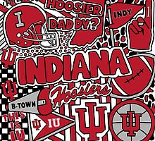 Indiana University Collage by coreybloomberg