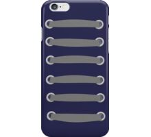 LAced up gray iPhone Case/Skin