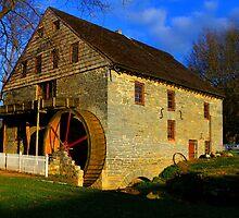 Grist Mill by Sharon Batdorf