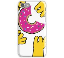 Simpson's Doughnut iPhone Case/Skin