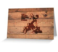 Branded Full Mount Ground and Pound Greeting Card