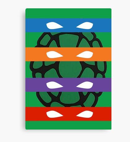 Teenage Mutant Ninja Turtles Masks Canvas Print