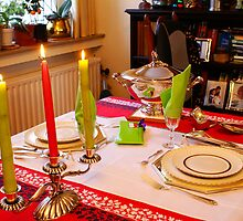 Christmas dinner for two. by Gilberte