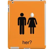 Arrested Development Her? iPad Case/Skin