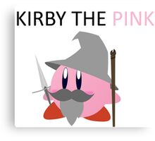 Kirby the Pink Canvas Print