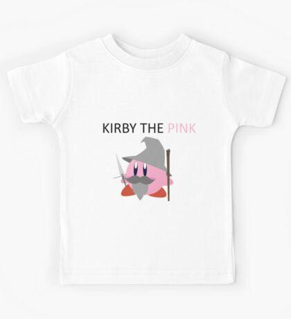 Kirby the Pink Kids Tee