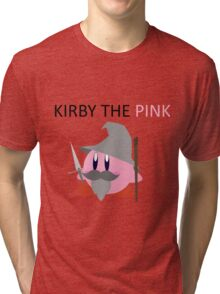 Kirby the Pink Tri-blend T-Shirt
