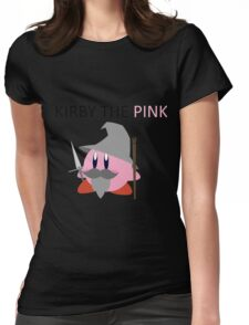 Kirby the Pink Womens Fitted T-Shirt