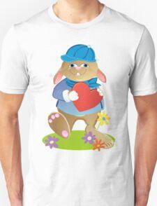 Bunny-boy with heart T-Shirt