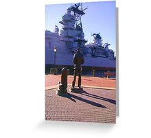 A Sailor's View Greeting Card
