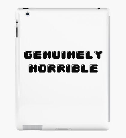 Genuinely Horrible iPad Case/Skin