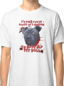 I'd Push You (Pitty) Classic T-Shirt
