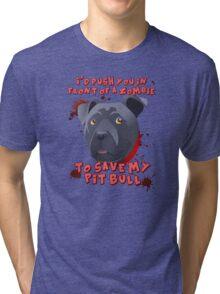 I'd Push You (Pitty) Tri-blend T-Shirt