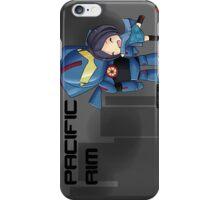 Pacific Rim- Mako Mori and Gipsy Danger Chibi by KlockworkKat iPhone Case/Skin