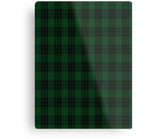 00025 Graham Clan/Family Tartan Metal Print