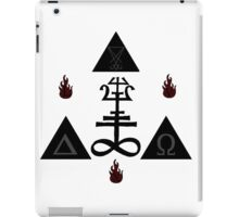 Occult symbol iPad Case/Skin