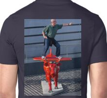 Amelia Air Cow - with passenger Unisex T-Shirt