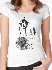 Biggest Two-Faced Monster: Life and Death Women's Fitted Scoop T-Shirt