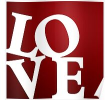 Love in Red Poster
