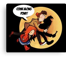 The Adventures of Pond and Doctah Canvas Print