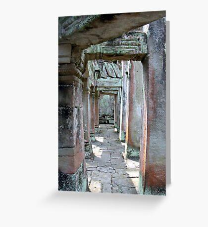Angkor Wat - Cambodia Greeting Card