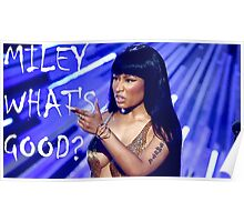 Miley What's Good? Poster