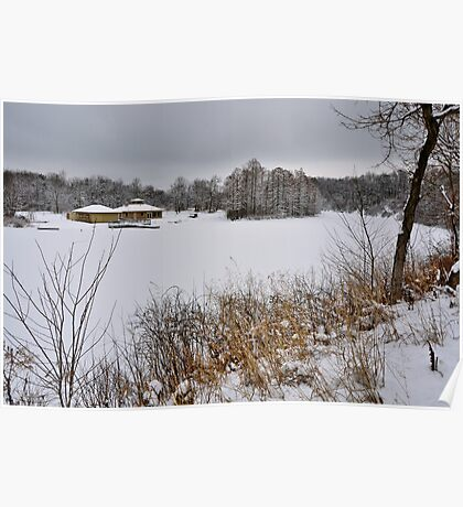 Clear Lake, Winter Poster