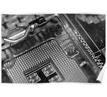 Broken Computer Poster