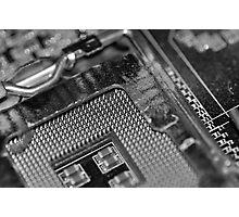 Broken Computer Photographic Print
