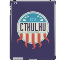 Cthulhu for President 2016 iPad Case/Skin