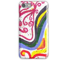 Nauseous curves iPhone Case/Skin