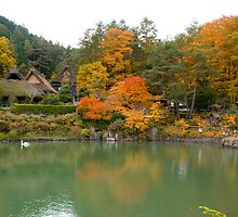 Hida Folk Village (Hida-no-Sato) by Matt Rex