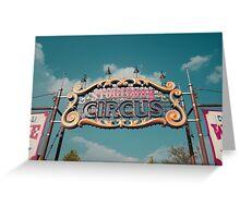 Storybook Circus Greeting Card