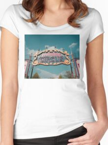 Storybook Circus Women's Fitted Scoop T-Shirt