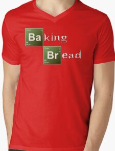 Baking Bread (Breaking Bad parody) - New Style! Mens V-Neck T-Shirt