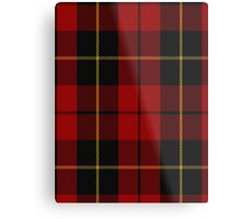 00026 Wallace Clan/Family Tartan Metal Print