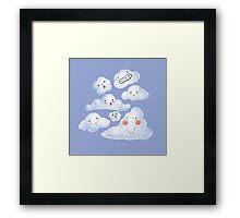 Cloud Family Framed Print