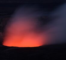Volcanic Crater at Sunset by Gina Ruttle  (Whalegeek)