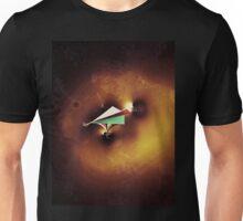 Paper Spaceship 2 Remixed Unisex T-Shirt