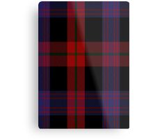 00003 Brown or Grady Clan/Family Tartan  Metal Print