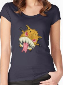 forgotten toys 4... Women's Fitted Scoop T-Shirt