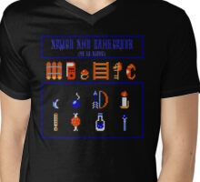 Armed and Dangerous (To Go Alone!) Mens V-Neck T-Shirt