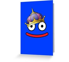 DragonQuest King Slime Greeting Card