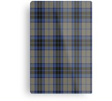 00006 Thom(p)son Dress Blue Tartan Metal Print