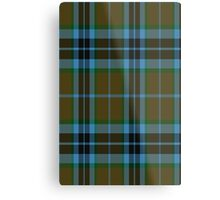 00007 Thompson-Thomson-MacTavish Hunting Tartan  Metal Print