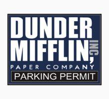 Dunder Mifflin - Parking Permit One Piece - Long Sleeve